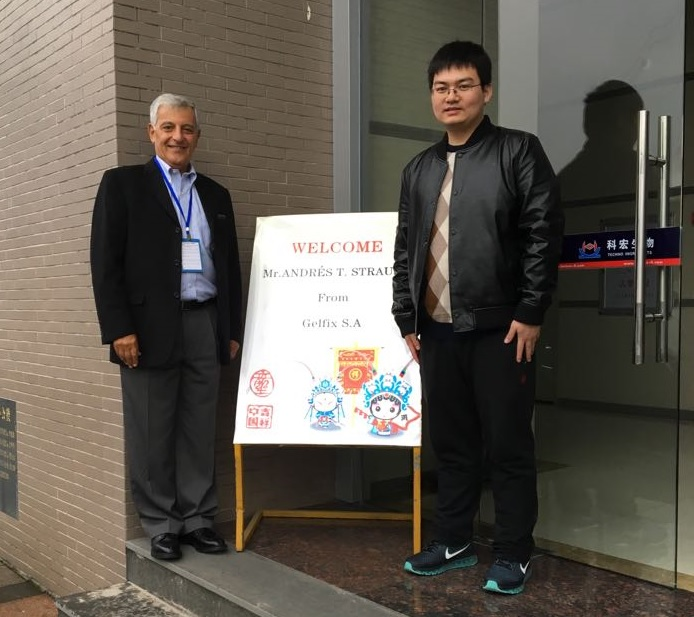 Welcome at Techno Food Ingredients plant.